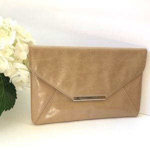 Cream / Beige Clutch Bag